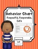 Behavior Chart (Responsible, Respectful, Safe)