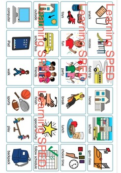 Behavior Chart Reward chart visual weekly special education autism goal chart