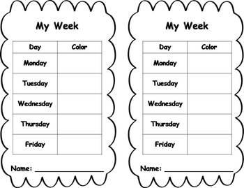Behavior Clip Chart - Shapes Theme