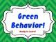 Behavior Chart Signs