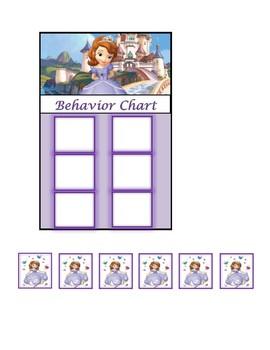 Behavior Chart (Sophia the First)