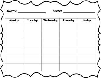 Behavior Clip Chart - Space Theme