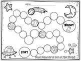 Individual Behavior Chart- Space Theme
