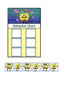 Behavior Chart (Spongebob)