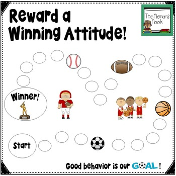Behavior Chart- Sports Theme