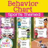 Behavior Clip Chart Sports Themed