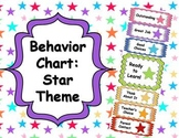 Behavior Clip Chart - Star Theme