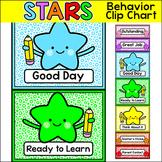 Star Theme Behavior Clip Chart - Editable Classroom Decor