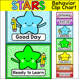 Behavior Chart - Star Theme Behavior Clip Chart