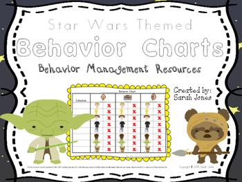 Behavior Charts - Star Wars Themed - Behavior Management Resources