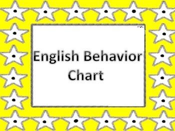 Behavior Chart Stars