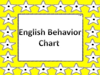 Behavior Chart Stars