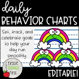 Behavior Chart / Sticker Chart / Check in Check Out