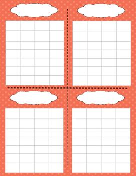 Behavior Chart / Sticker Chart / Group Behavior