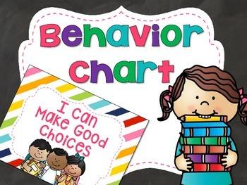 Behavior Chart - Stripes