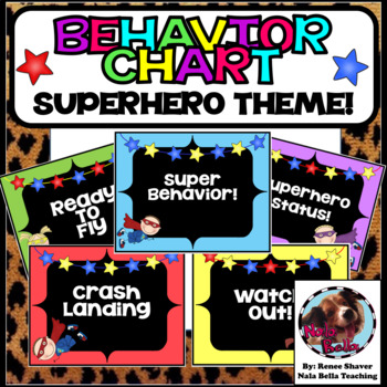 Behavior Chart Superhero