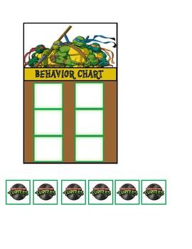 Behavior Chart (Teenage Mutant Ninja Turtles)