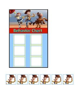 Behavior Chart (Toy Story)