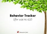 Behavior Chart/Tracker