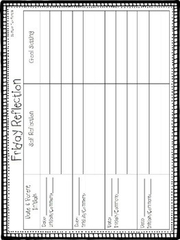 Behavior Chart & Tracking Tools