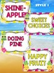 Behavior Chart - Tropical Pineapple Theme Behavior Clip Chart
