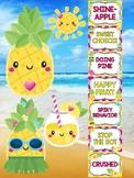 Behavior Chart - Tropical Pineapple Theme Behavior Clip Chart