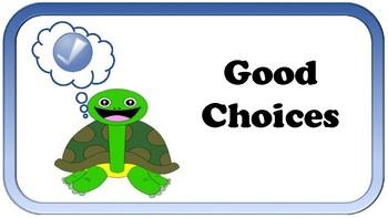 Behavior Chart - Turtles