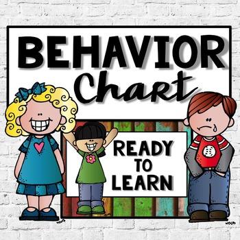 Behavior Chart Wood Background