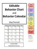 Behavior Chart and Calendar