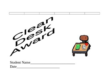 Behavior Chart and Student Awards