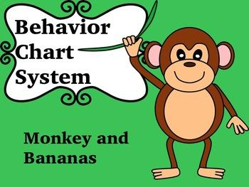 Behavior Chart system- Monkey and bananas