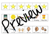 "Behavior Chart with Reward and ""I'm Ready"" Visual"