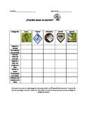 Behavior Chart/Spanish and English