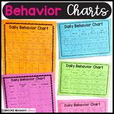 Behavior Charts- for Behavior Management  {Editable}