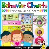 Behavior Clip Charts (Editable)