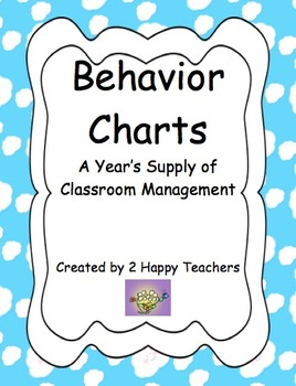 Behavior Charts: A Year's Supply of Classroom Management