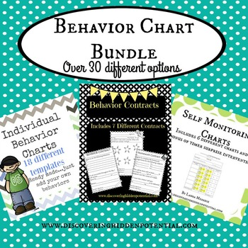 Behavior Charts Bundle