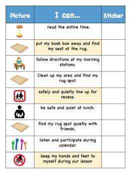 Behavior Charts - Editable!