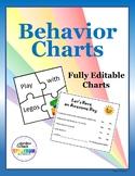 Behavior Charts: Fully Editable