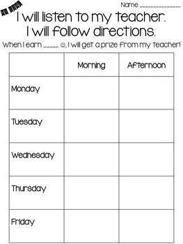 Behavior Charts {Simple AND Manageable}