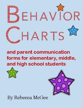 Behavior Charts and Parent Communication Logs