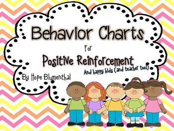 Behavior Charts for Positive Reinforcement