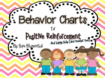 Behavior Charts for Positive Reinforcement