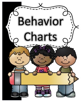Behavior Charts for each Month to Use with Any Color System