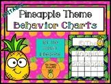 Behavior Charts in Tropical Pineapple Theme