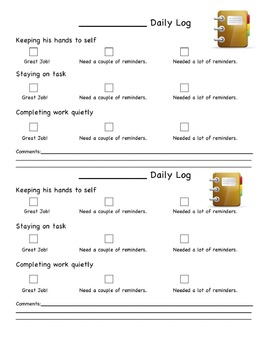 Behavior Charts to fit most classrooms