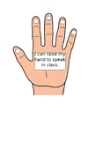 Behavior Checklist for Hand Raising