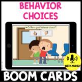 Behavior Choices BOOM CARDS