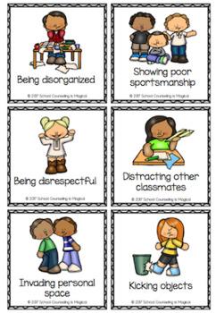 Behavior Choices Bingo