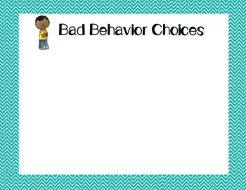 Behavior Choices Game